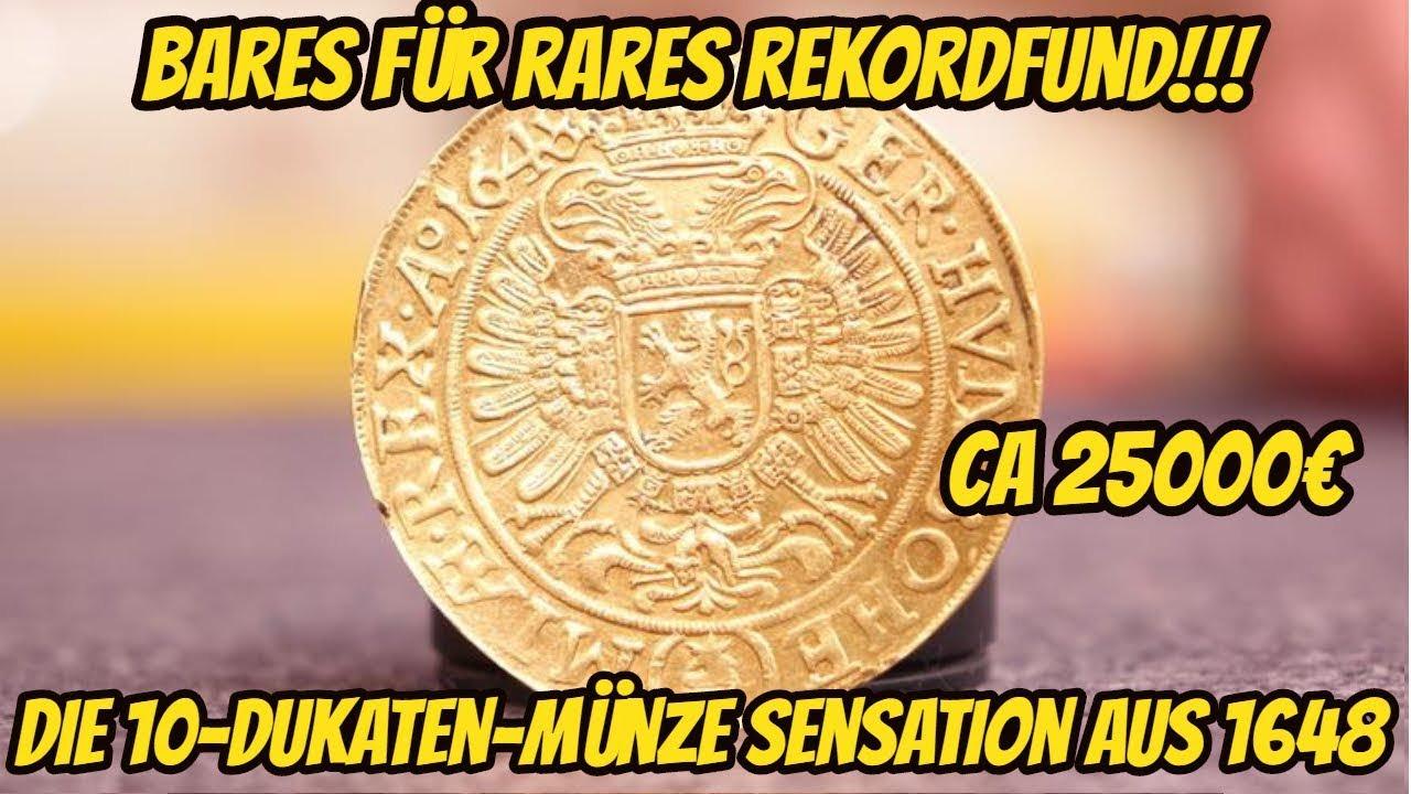 Rekordfund Bei Bares Für Rares Goldmünze Aus 1648